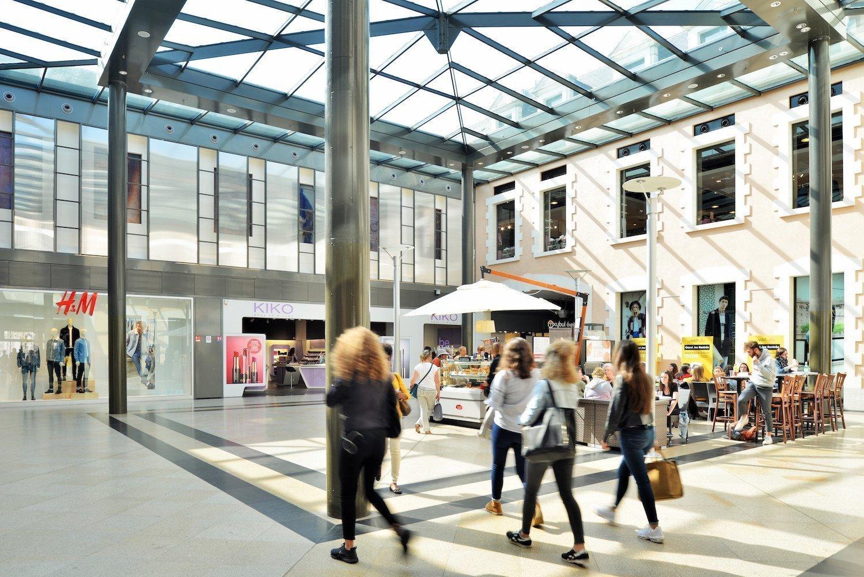 Galerie commerciale de La visitation à Rennes