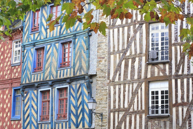 Maisons à pans de bois Place Sainte Anne