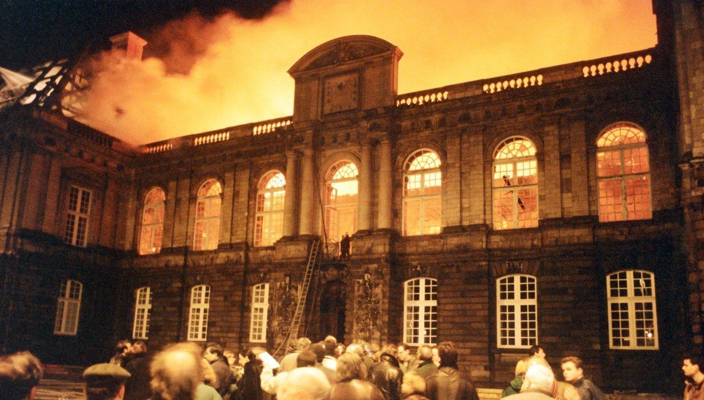 Incendie du parlement de Bretagne