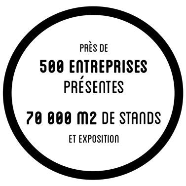 Près de 500 entreprises présentes