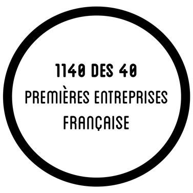 14 des 40 premières entreprises francaises