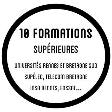 13 formations supérieures