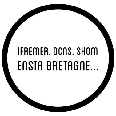 Ifremer, DCNS, shom....