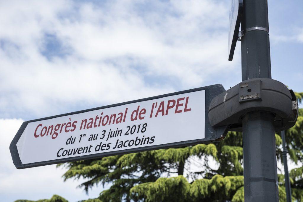 Congrès de l'Apel au Couvent des Jacobins à Rennes