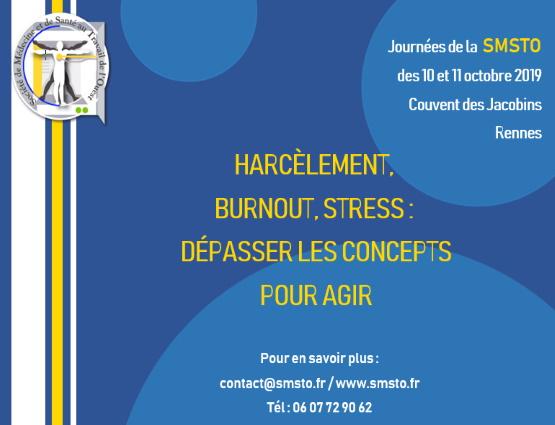 Journées de la SMSTO - Rennes
