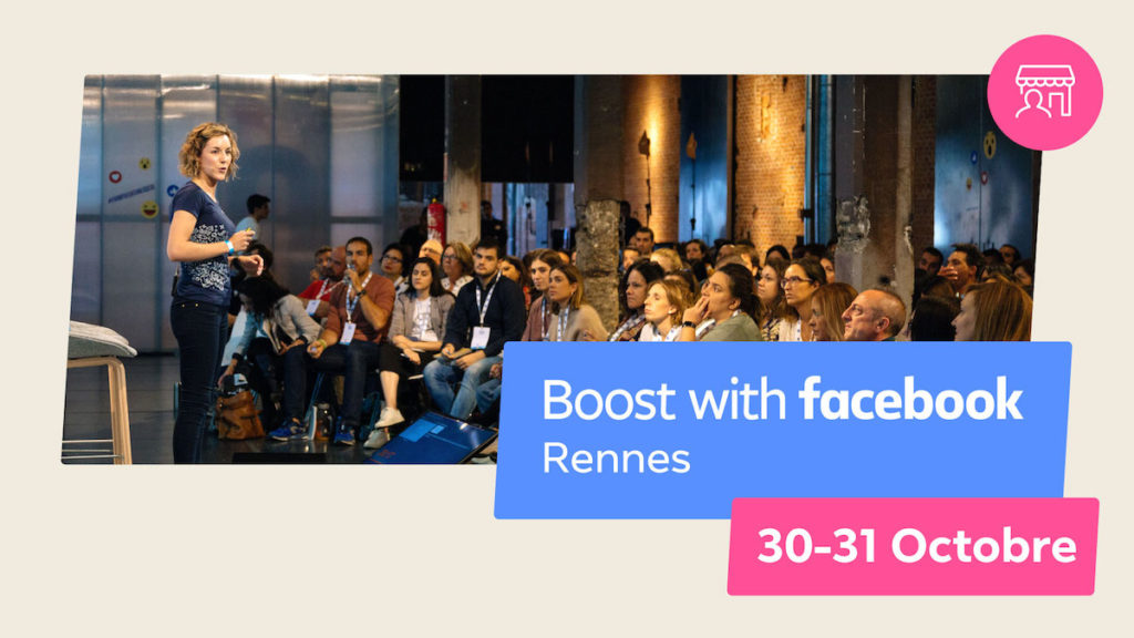 Conférence Boost with Facebook