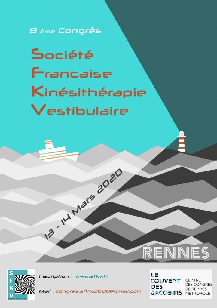 8e congrès de la SFKV - Rennes - 2020