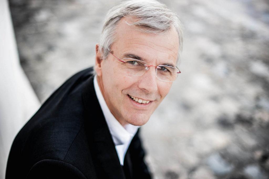 Le Professeur Philipe Legrand, Directeur d'Agrocampus Ouest
