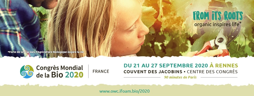 Congrès Mondial de la Bio Rennes 2020