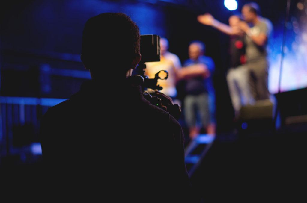 Cameraman concert évènementiel