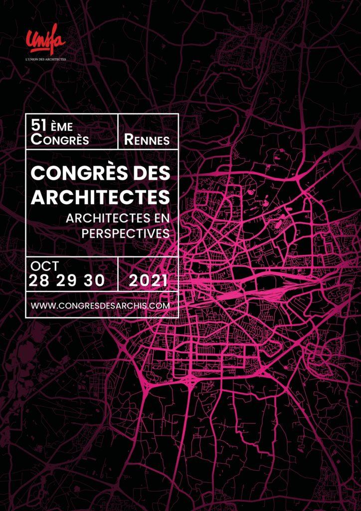 Congrès des Architectes au Couvent des Jacobins, Rennes