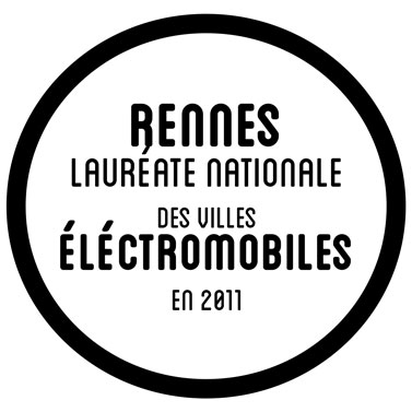 Rennes, leader national des villes éléctromobiles en 2011