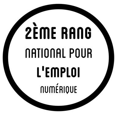 """2ème rang national pour l""""emploi numérique"""