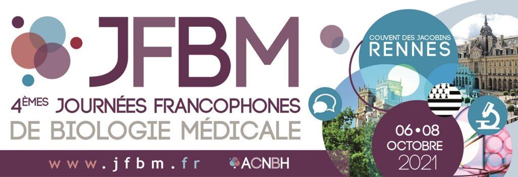 Journées Francophones de Biologie Médicale à Rennes