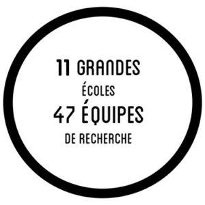 11 grandes écoles - 47 équipes de recherche