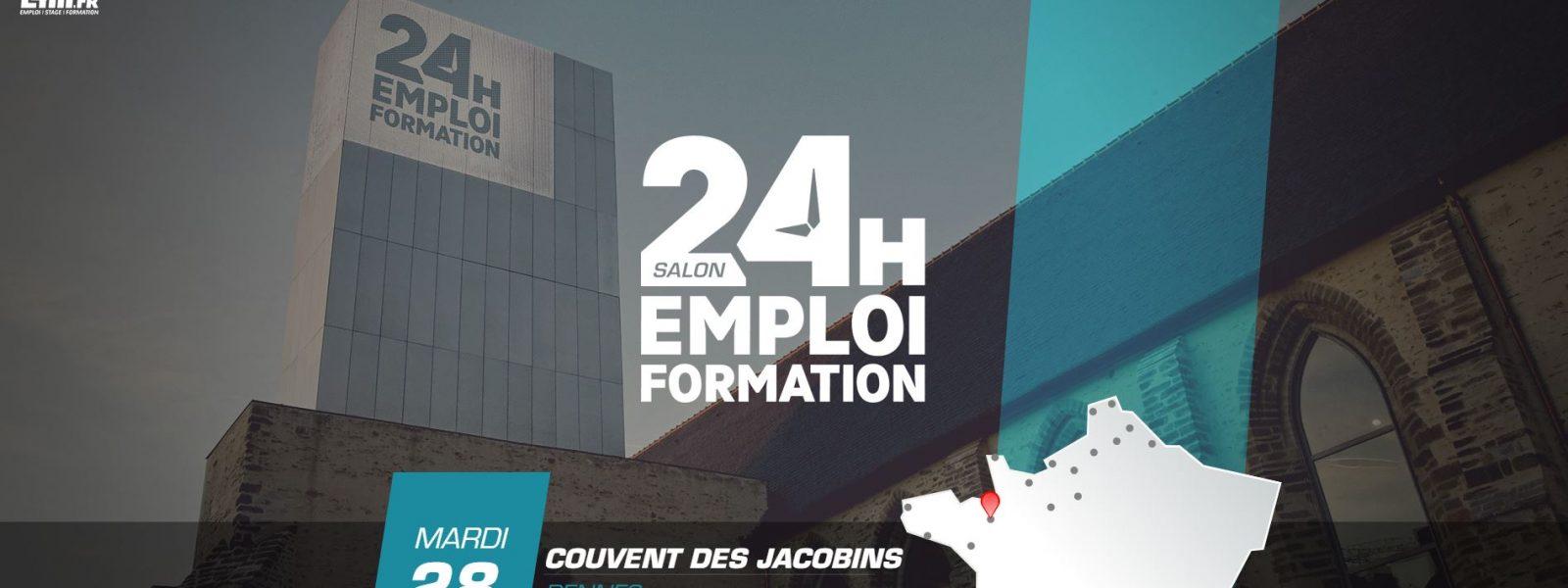 24h Emploi et Formation 2021 à Rennes