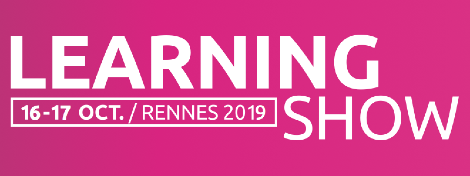 Learning Show 2019 Rennes