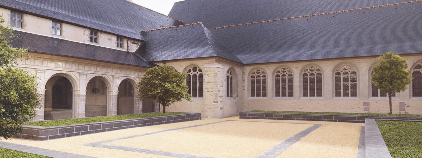 Cloister - Couvent des Jacobins - Rennes