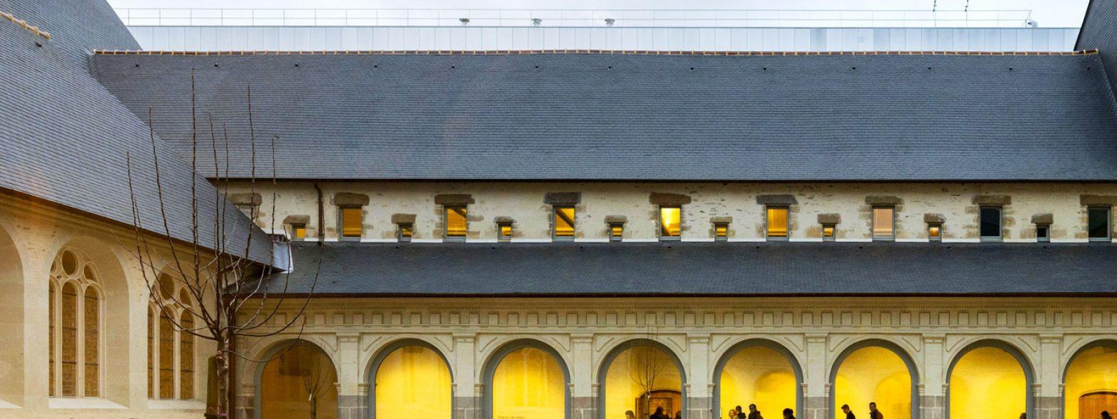 Cloître et cours intérieur du Couvent des Jacobins - Centre des Congrès de Rennes Métropole