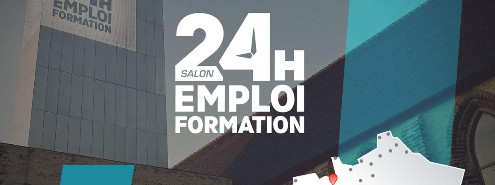 Salon 24h Emploi Formation Rennes 2020